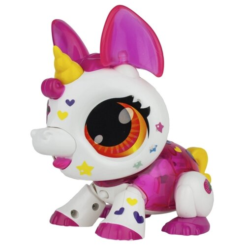 Купить Интерактивная игрушка робот 1 TOY Робо Лайф Единорог бело-розовый, Роботы и трансформеры
