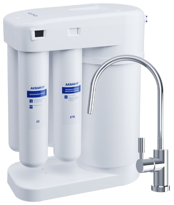 Фильтр для очистки воды Водоочиститель Аквафор Морион DWM-101 S