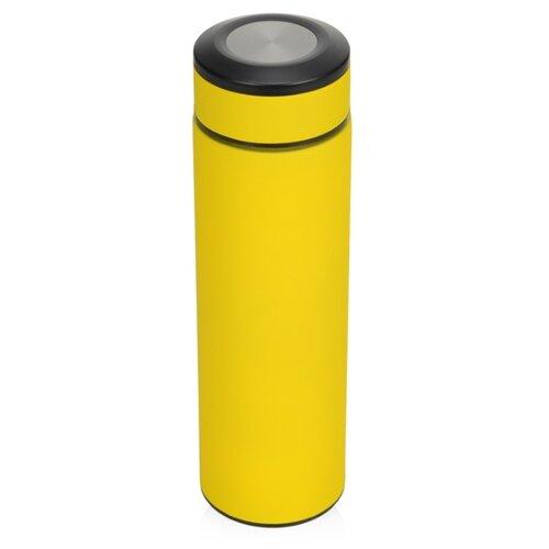 Термос «Confident» с покрытием soft-touch 420мл, желтый