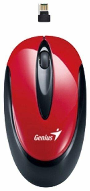Мышь Genius Traveler 6010 Red USB