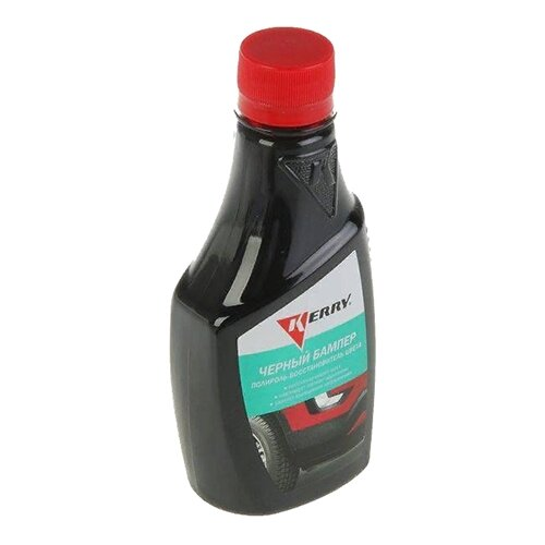 KERRY Полироль-восстановитель цвета Черный бампер KR-280, 0.25 л