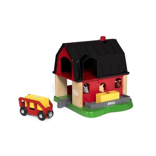 Игровой набор Brio Ферма 33936 игровой набор brio детская площадка 4 предмета