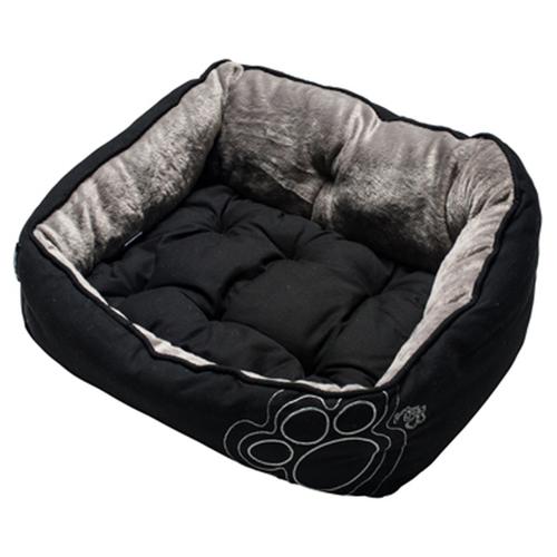 Лежак для собак Rogz Luna Pod UPXS 43х30х19 см Black Paw