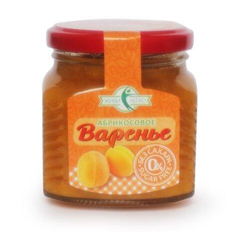 Варенье Мир вкусов Абрикос без сахара на эритрите, банка 250 г
