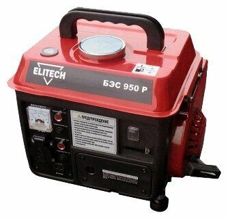 Бензиновый генератор ELITECH БЭС 950 Р (650