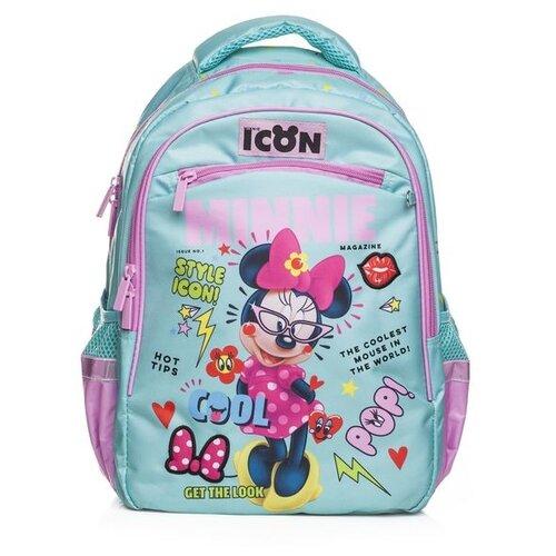 Hatber рюкзак Soft Минни Маус (NRk_49105), голубой/розовый, Рюкзаки, ранцы  - купить со скидкой