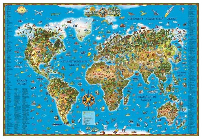DMB Карта для детей Мир (450)