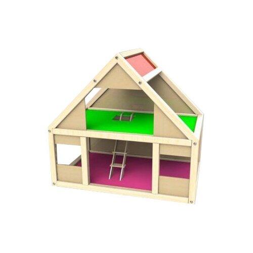 Соколов кукольный домик Мила 17, бежевый/зеленый/красный арсений соколов книга иисуса навина