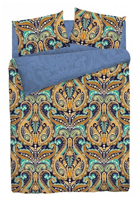 Двуспальный комплект постельного белья VEROSSA Сатин Deria с наволочками 50*70 (739509)