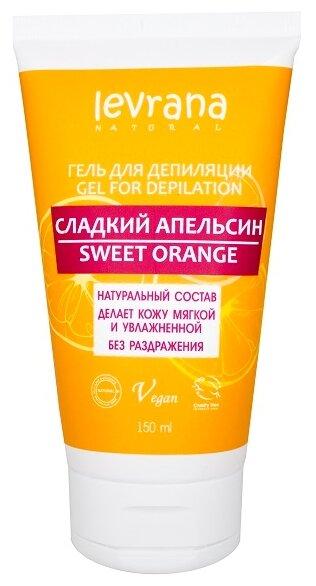 Levrana Гель для депиляции Сладкий апельсин