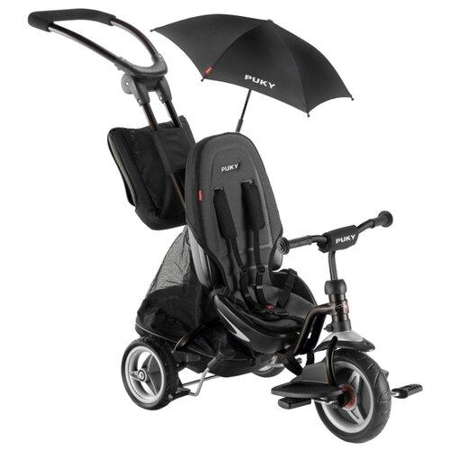 Трехколесный велосипед Puky CAT S6 Ceety (с зонтиком), черный, Трехколесные велосипеды  - купить со скидкой