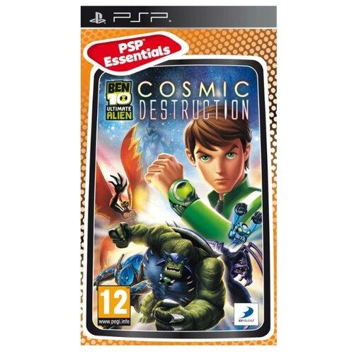Игра для PlayStation Portable Ben 10: Ultimate Alien Cosmic Destruction