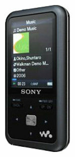 Плеер Sony NWZ-S616F