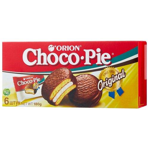 Пирожное Orion Choco Pie 180 г