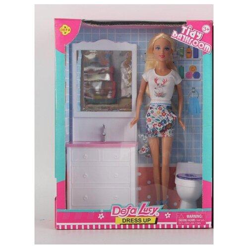 цена на Кукла Defa Lucy Ванная комната, 8449a
