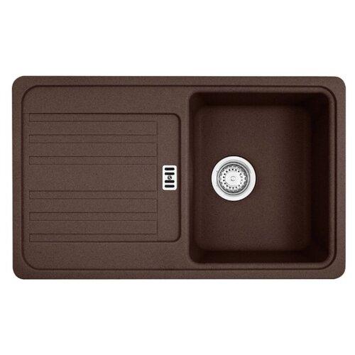 Врезная кухонная мойка 78 см FRANKE EFG 614-78 114.0263.461 шоколад врезная кухонная мойка 78 см franke pbg 611 78 114 0297 239 шоколад