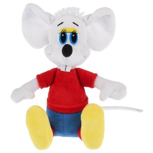 Мягкая игрушка Мульти-Пульти Леопольд Белый мышонок 20 см, муз. чип