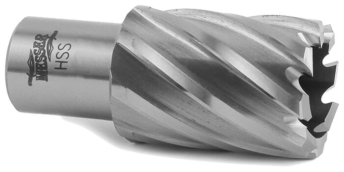 Сверло корончатое, по металлу Messer 19