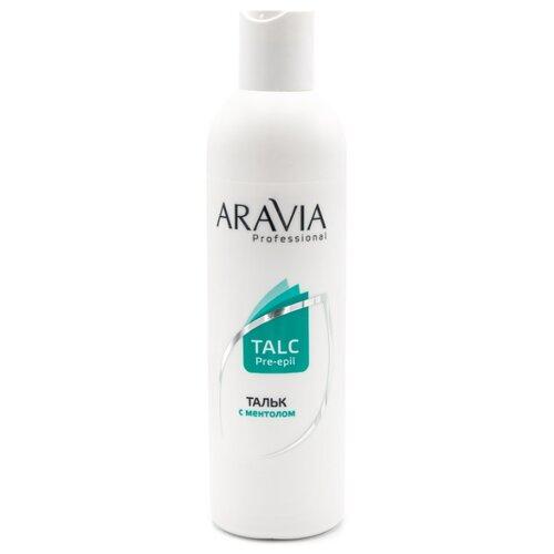 ARAVIA Professional Тальк с ментолом 300 мл восстанавливающий бальзам для ног с витаминами revita balm aravia professional 100 мл