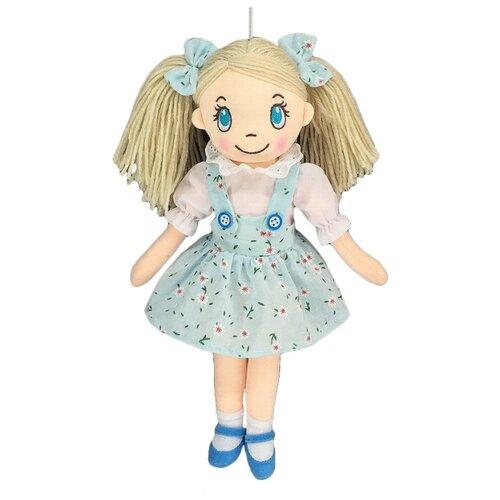 Купить Мягкая игрушка ABtoys Кукла в сарафане в цветочек 30 см, Мягкие игрушки
