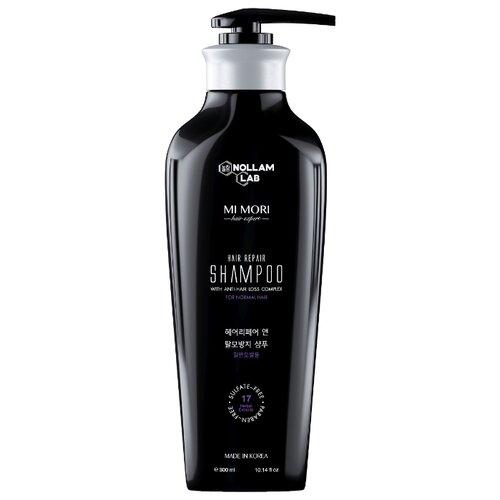 Nollam Lab шампунь Mi Mori Hair Repair против выпадения для нормальных волос 300 мл с дозатором каарал шампунь против выпадения