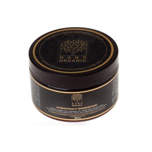 Nano organic Маска для волос от выпадения, 300 мл маска от выпадения волос эффективная
