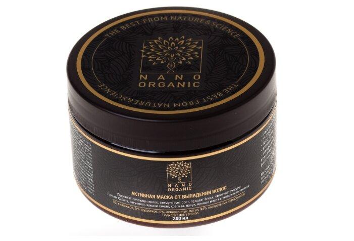 NanoOrganic Маска для волос от выпадения — купить по выгодной цене на Яндекс.Маркете