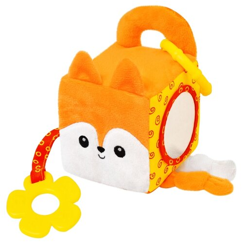 Подвесная игрушка Мякиши Апельсинка (633) оранжевый цена 2017