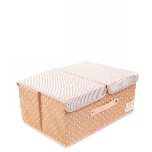 Удачная покупка Коробка для хранения RYP102 оранжевый пуфик с ящиком для хранения удачная покупка ryp56 38 искусственная кожа черный
