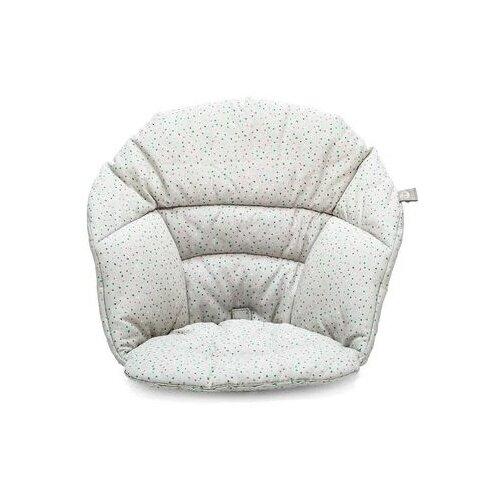 Подушка на сиденье Stokke Cushion для стульчика Clikk, 552201, Grey Sprinkles подушка для переноски автокресла dooky arm cushion grey stars