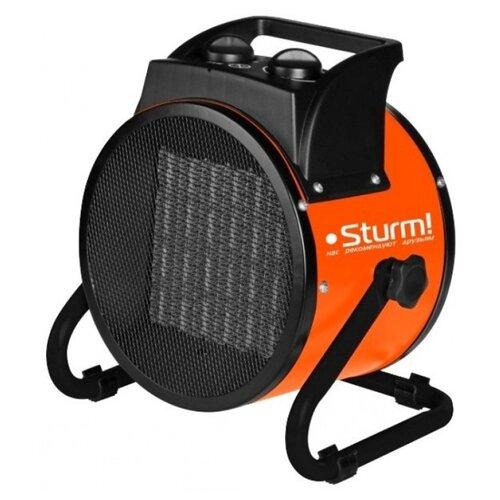 Тепловентилятор Sturm! FH3022C черный/оранжевый