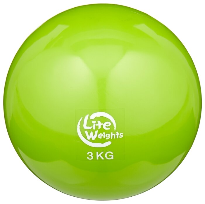 Медбол Lite Weights 1703LW, 3 кг