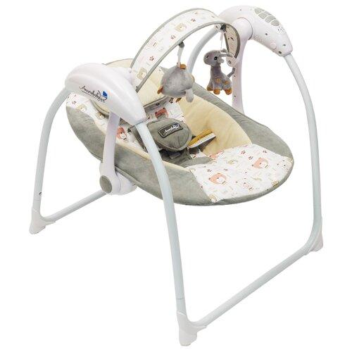 Качели Amarobaby Swinging Baby серый, Качели, шезлонги  - купить со скидкой