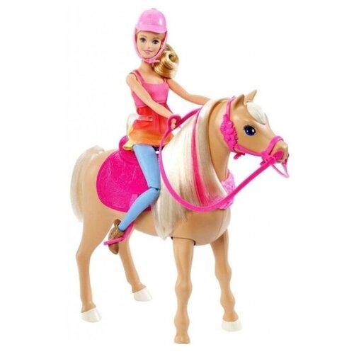 Фото - Barbie Игровой набор с куклой Танцующая лошадка набор игровой barbie оздоровительный спа центр gjr84
