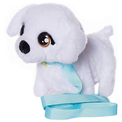 Фото - Интерактивная мягкая игрушка Club Petz Mini Walkiez Щенок, Bichon интерактивная мягкая игрушка mioshi active весёлый щенок mac0601 006 белый