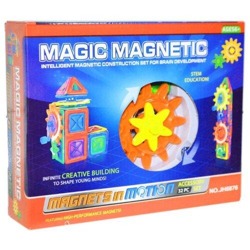 Магнитный конструктор Наша игрушка Magic Magnetic JH6876