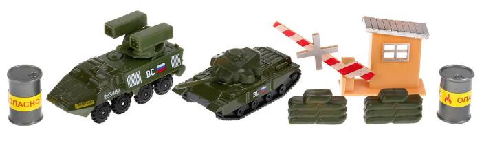 Набор техники ТЕХНОПАРК из двух моделей Военная
