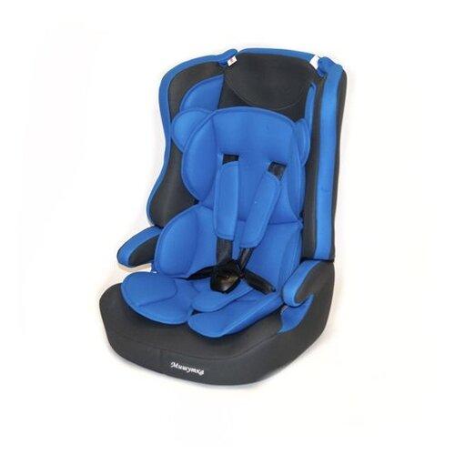 автокресло actrum lb 303 0 18 цвет blue velure синий велюр Автокресло группа 1/2/3 (9-36 кг) Мишутка LB 513RF, 09 blue/grey