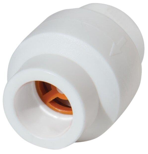 Обратный клапан одностворчатый Kalde Обратный клапан 20 муфтовый (ВР/ВР), полипропилен