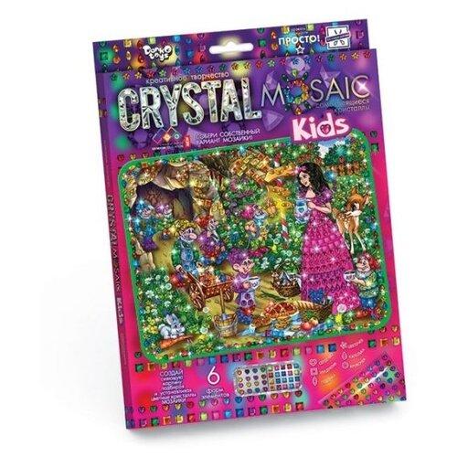 Купить Danko Toys Набор алмазной вышивки Crystal Mosaic Белоснежка (CRMk-01-07), Алмазная вышивка