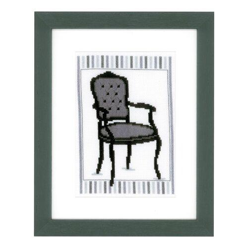 Купить Набор для вышивания Стул I 13 х 18 см PN-0148609, Vervaco, Наборы для вышивания