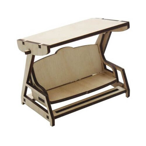 Купить Astra & Craft Деревянная заготовка для декорирования Крытые качели L-521 береза, Декоративные элементы и материалы