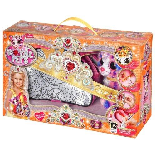 Купить Danko Toys Набор креативного творчества Royal Pet's Модные подружки, набор 4 (RP-01-04), Роспись предметов