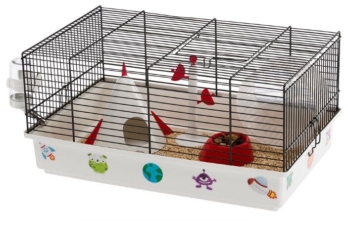 Клетка для грызунов Ferplast Criceti 9 Space 46х29.5х23 см