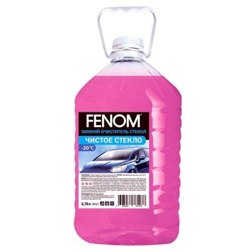 Жидкость для стеклоомывателя FENOM Чистое стекло FN127, -20°C, 3.78 л