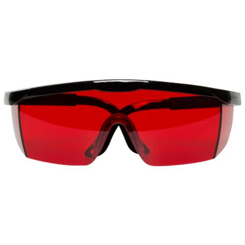 Очки RGK для работы с лазерными приборами черный/красный