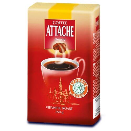 Кофе молотый Attache Viennese Roast, 250 г кофе молотый lofbergs medium roast in cup 250 г