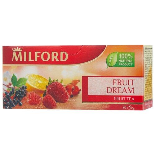 Фото - Чай красный Milford Fruit dream в пакетиках, 40 г 20 шт. чай в пакетиках фиточаи байкальские женский лечебный с боровой маткой 20 шт по 1 5 г