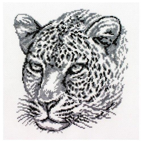 Купить Набор Леопард вышивка крестом 20х21, 5 Белоснежка 186-14, Наборы для вышивания