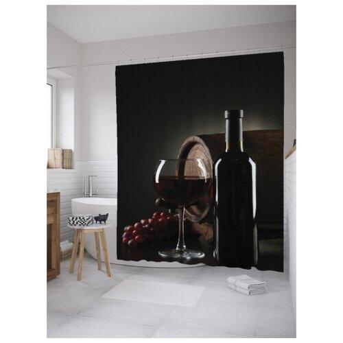 Штора для ванной JoyArty Вино и виноград 180х200 (sc-8853) вино виноград painted faces